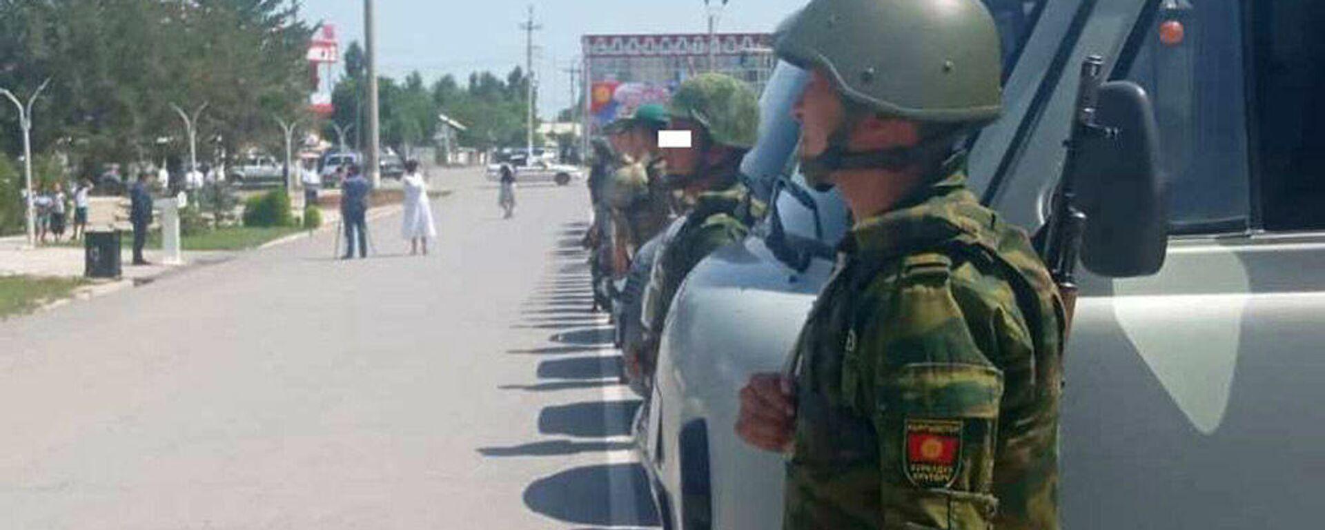 На кыргызско-таджикской границе проводится совместная специальная пограничная операция по противодействию контрабанде - Sputnik Тоҷикистон, 1920, 03.08.2021