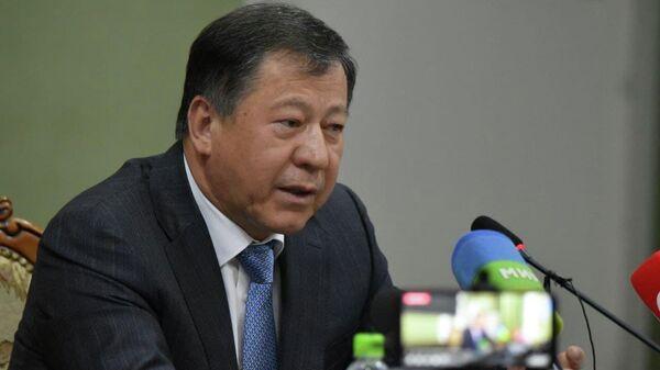 Рамазон Рахимзода, министр внутренних дел Таджикистана - Sputnik Таджикистан