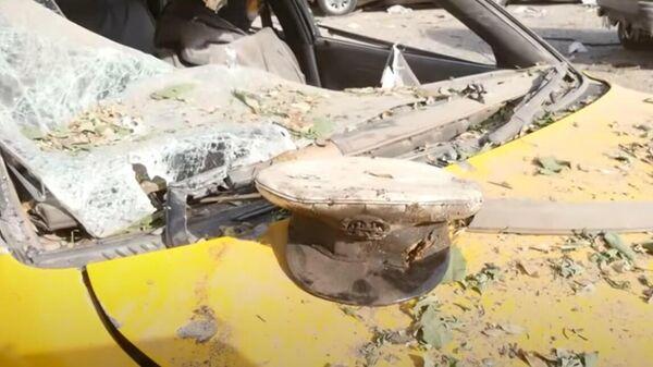 Последствия атаки на дом Министра обороны Афганистана Бисмиллах Мухаммади - Sputnik Тоҷикистон