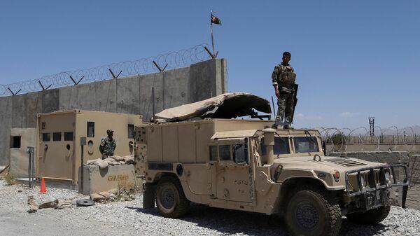 Подразделения коммандос Афганской национальной армии  - Sputnik Таджикистан