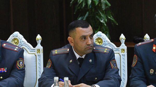 Подполковник Усмонзода Анис Карим - Sputnik Тоҷикистон