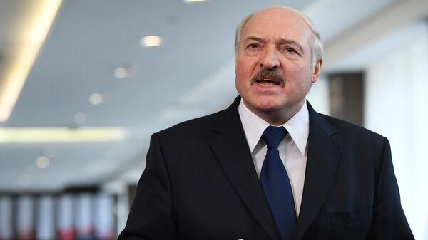 Президент Белоруссии Александр Лукашенко - Sputnik Тоҷикистон