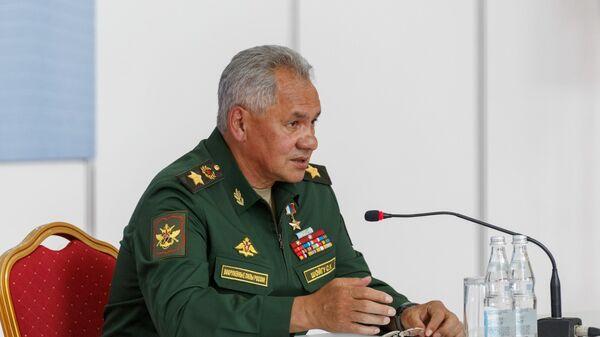 Министр обороны РФ, генерал армии Сергей Шойгу - Sputnik Тоҷикистон