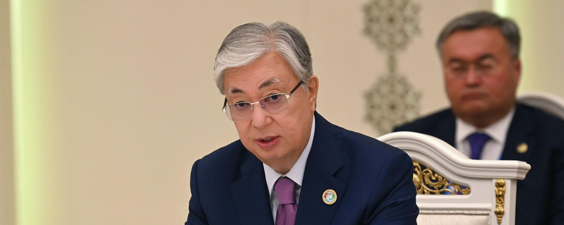 Президент Казахстана Касым-Жомарт Токаев - Sputnik Таджикистан, 1920, 17.09.2021