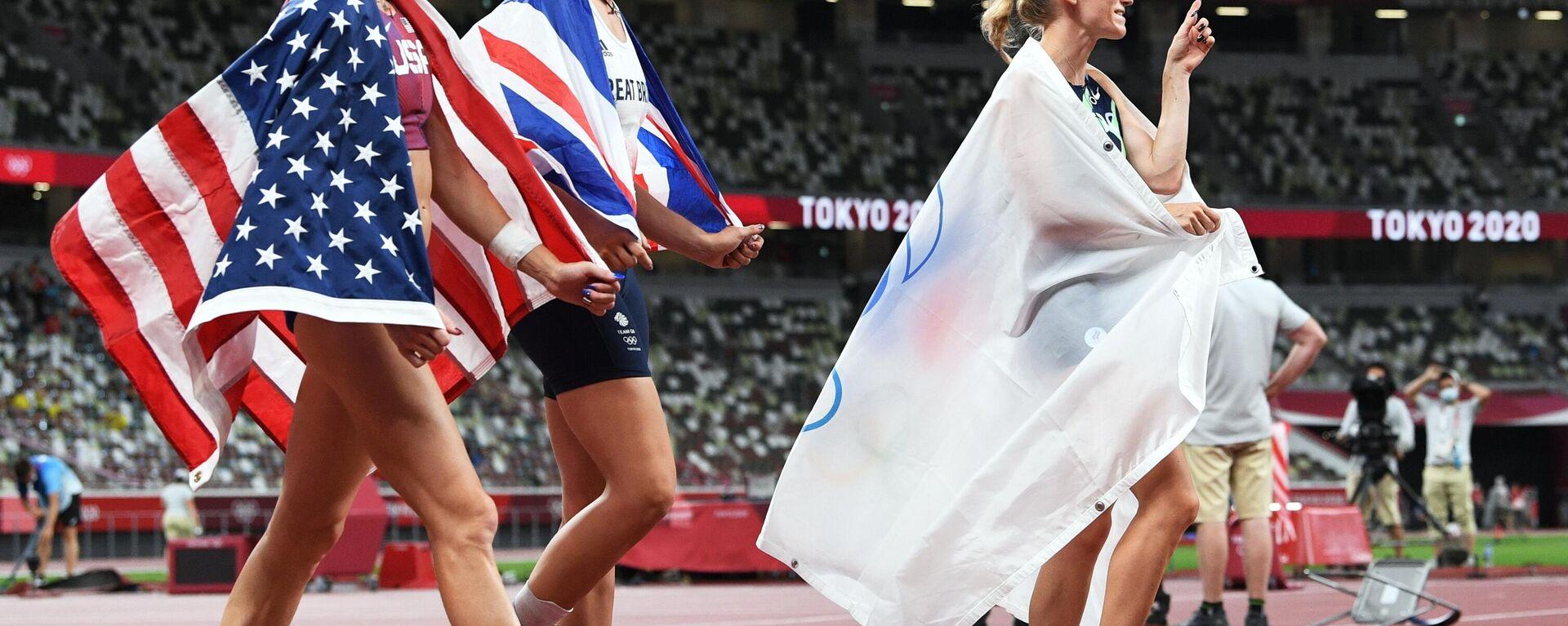 Олимпиада-2020. Легкая атлетика. Седьмой день - Sputnik Таджикистан, 1920, 08.08.2021