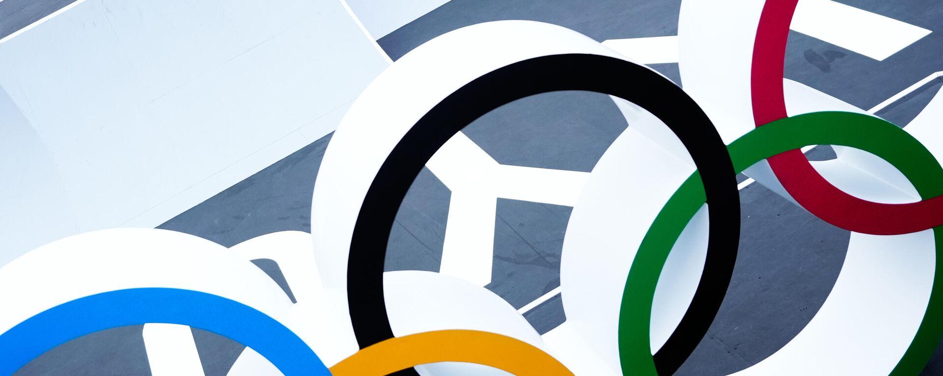 Олимпийские кольца - Sputnik Таджикистан, 1920, 09.08.2021