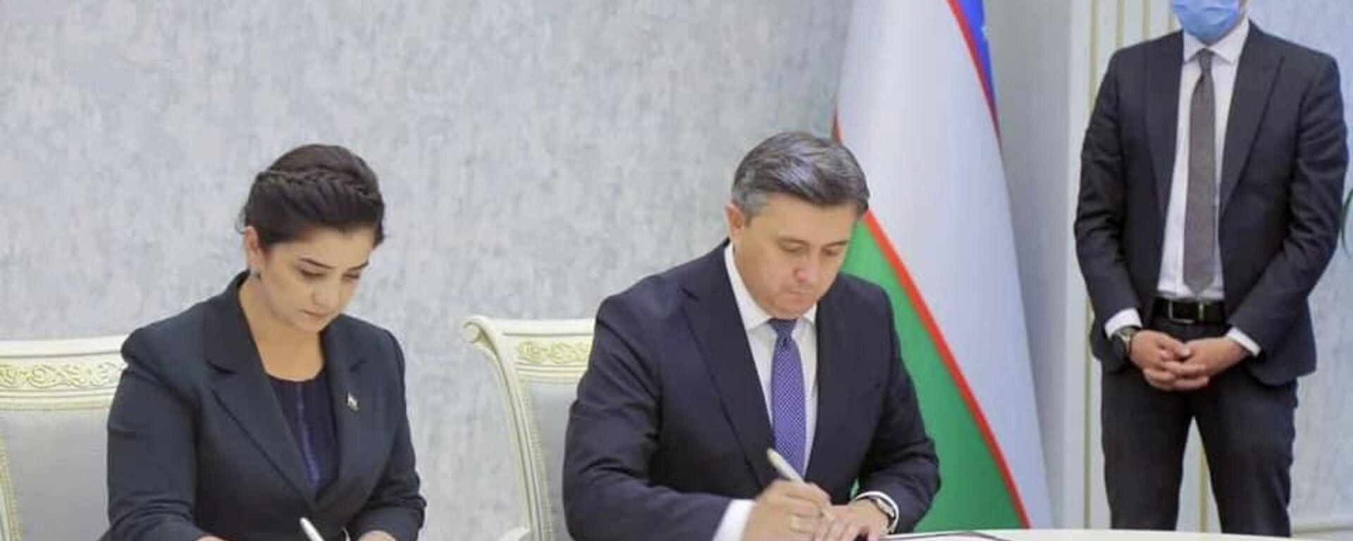 Минтруд Таджикистана и Узбекистана подписали 2 соглашения - Sputnik Таджикистан, 1920, 10.08.2021