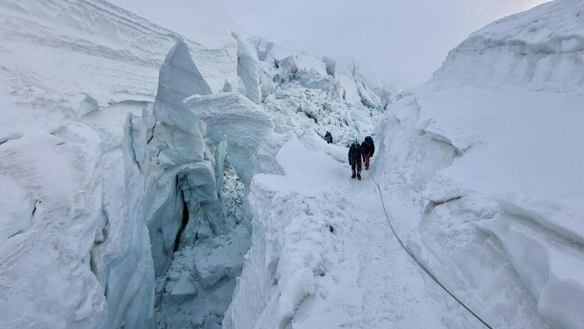 Ледники в районе Эвереста - Sputnik Таджикистан, 1920, 11.08.2021