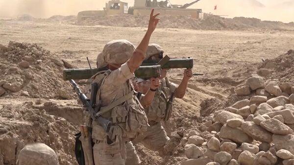 На таджикско-афганской границе завершились масштабные военные учения - Новости Таджикистана Сегодня  - Sputnik Тоҷикистон
