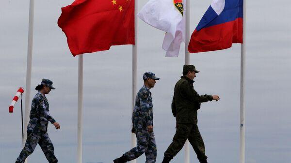 Российско-китайские военно-морския учения  - Sputnik Таджикистан