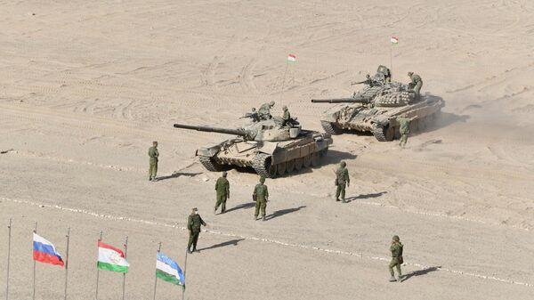 Совместные военные учения России, Узбекистана и Таджикистана - Sputnik Таджикистан