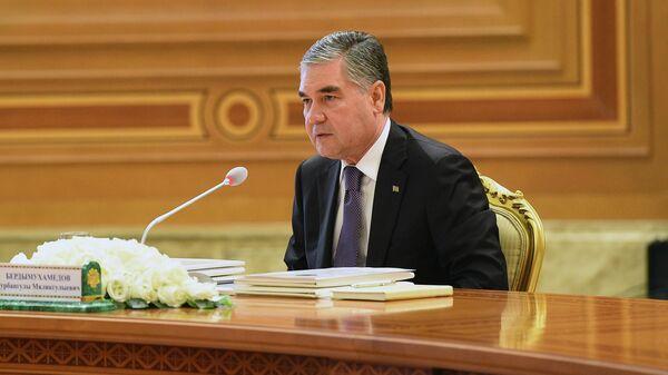 Президент Туркменистана Гурбангулы Бердымухамедов - Sputnik Таджикистан