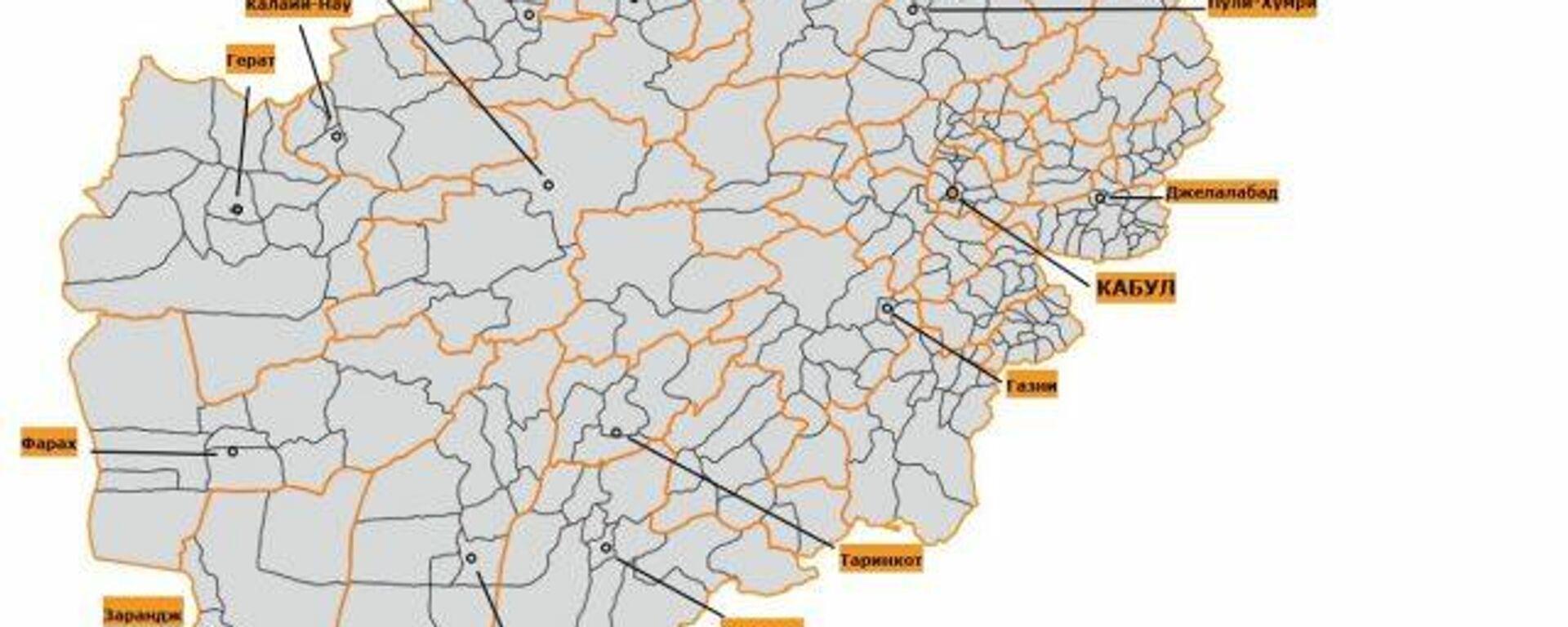 Как талибы захватывали власть в провинциях Афганистана - Sputnik Таджикистан, 1920, 14.08.2021