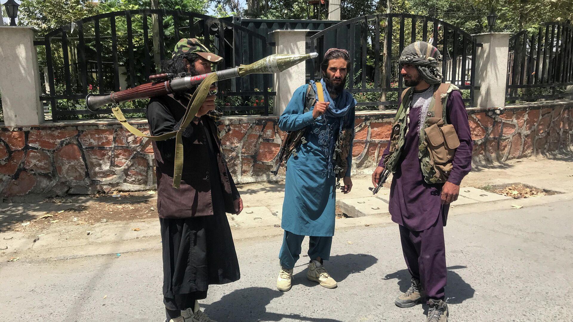 Силы Талибана в Кабуле, Афганистан - Sputnik Тоҷикистон, 1920, 01.09.2021