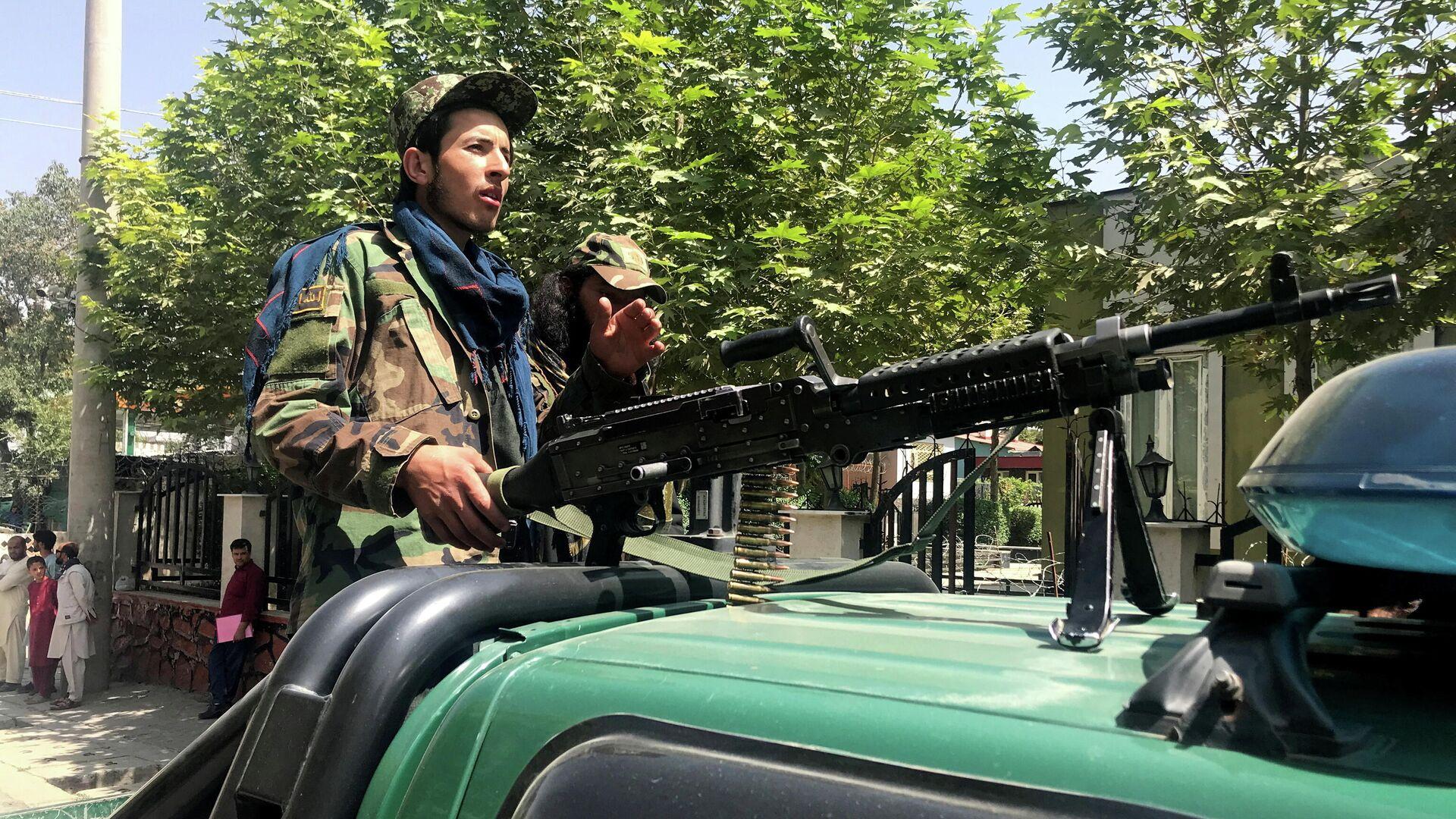 Силы Талибана в Кабуле, Афганистан - Sputnik Таджикистан, 1920, 29.09.2021