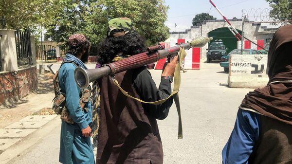 Силы Талибана в Кабуле, Афганистан - Sputnik Тоҷикистон