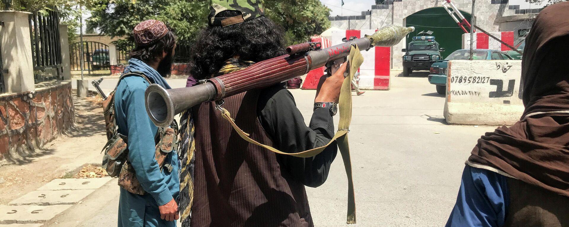 Силы Талибана в Кабуле, Афганистан - Sputnik Таджикистан, 1920, 17.08.2021