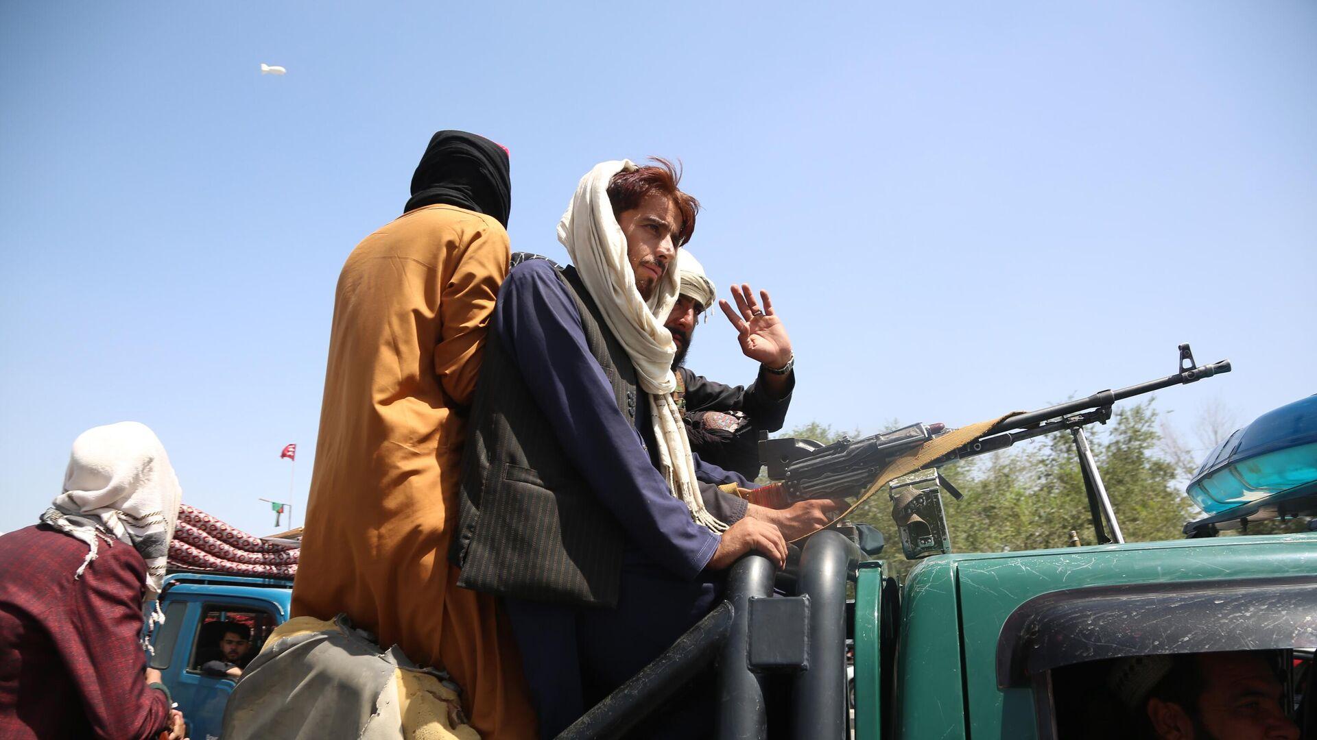 Боевики движения Талибан (террористическая организация, запрещена в России) в Кабуле - Sputnik Таджикистан, 1920, 17.08.2021