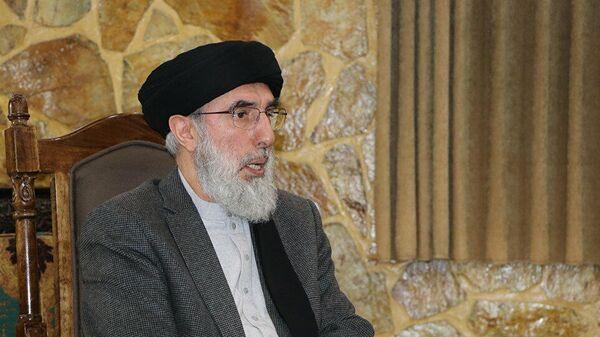 Гулбуддин Хикматияр, глава исламской партии Афганистан - Sputnik Тоҷикистон