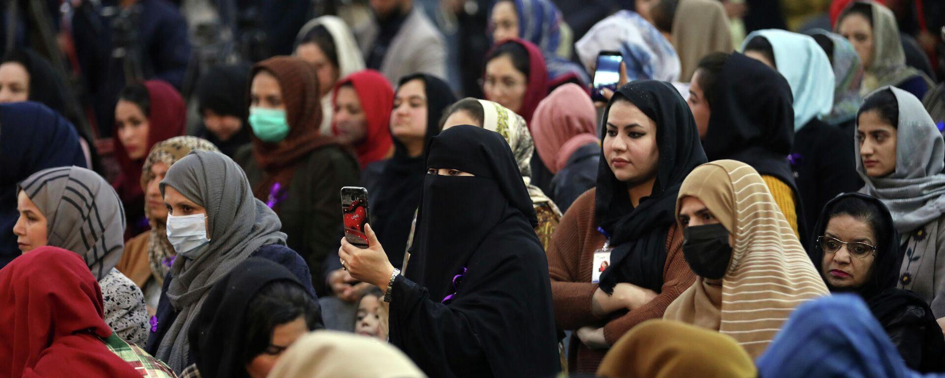 Афганские женщины - Sputnik Таджикистан, 1920, 17.08.2021
