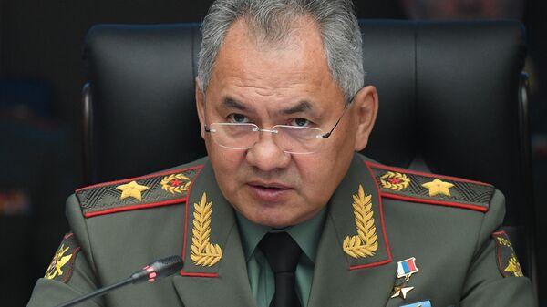 Министр обороны РФ Сергей Шойгу - Sputnik Тоҷикистон
