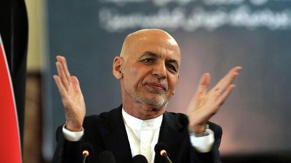 Бывший президент Афганистана Ашраф Гани - Sputnik Таджикистан