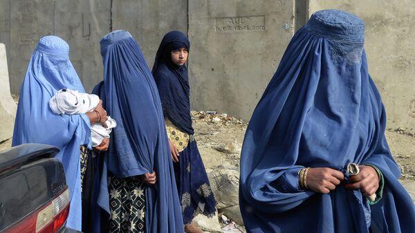 Женщины в Афганистане - Sputnik Таджикистан