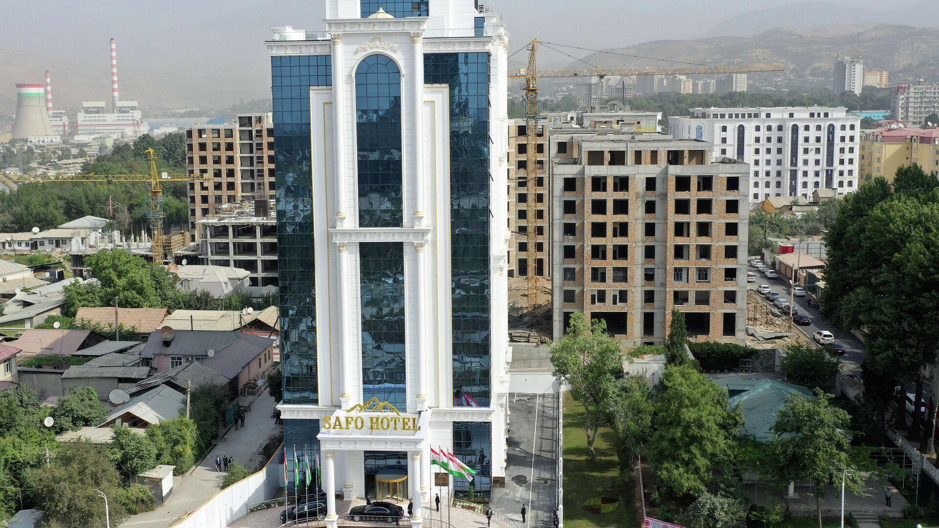 Новый отель в Душанбе - Сафо Hotel - Sputnik Тоҷикистон, 1920, 16.09.2021
