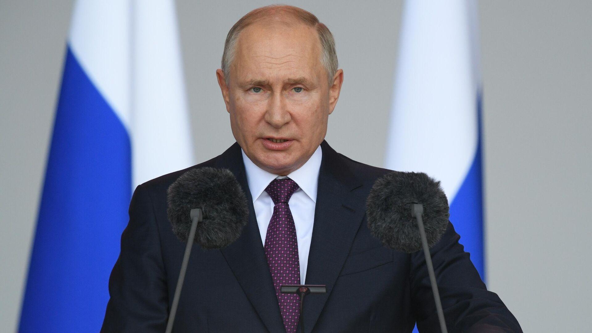 Президент РФ Владимир Путин - Sputnik Таджикистан, 1920, 14.10.2021