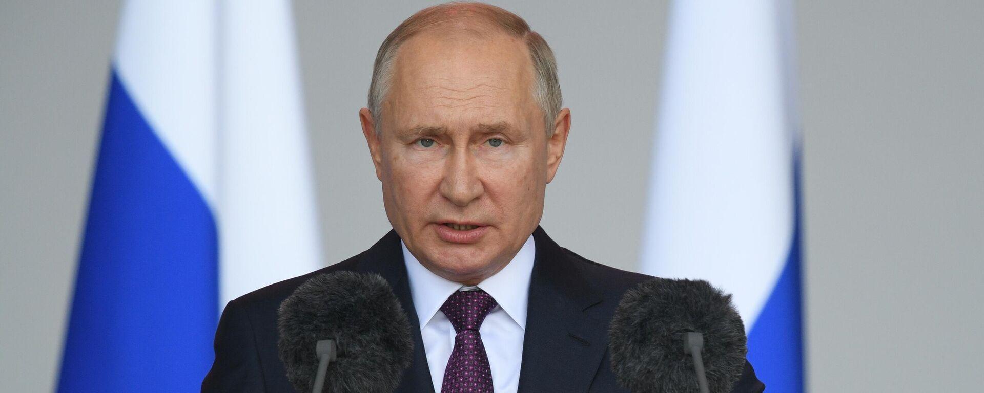 Президент РФ Владимир Путин - Sputnik Тоҷикистон, 1920, 17.09.2021