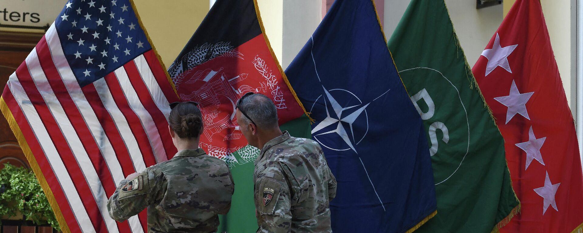 Штаб операции Решительная поддержка в Зеленой зоне в Кабуле  - Sputnik Таджикистан, 1920, 25.08.2021