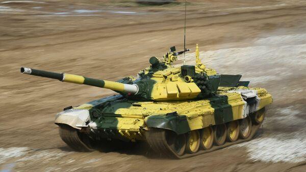 Танковый биатлон: Россия - Узбекистан - Китай - Sputnik Таджикистан