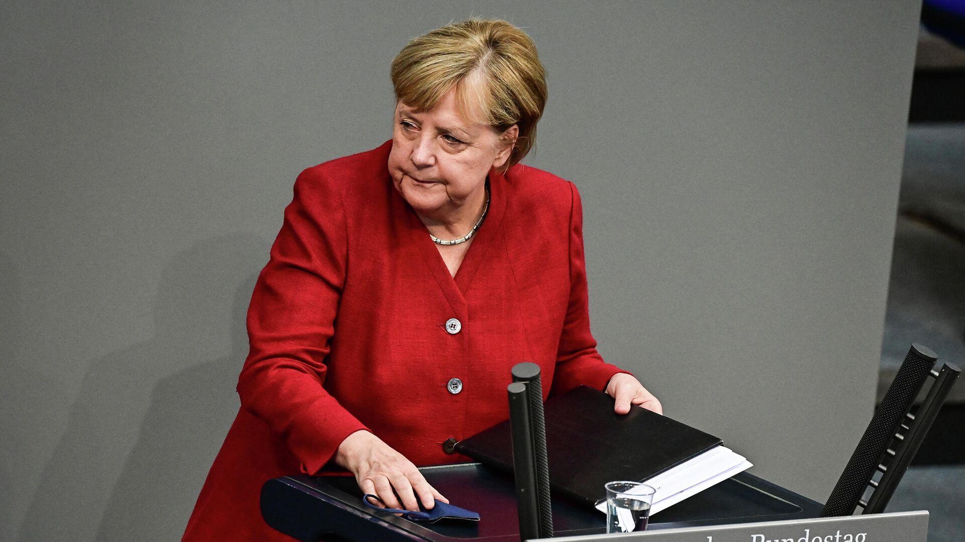 Федеральный канцлер ФРГ Ангела Меркель - Sputnik Таджикистан, 1920, 25.08.2021