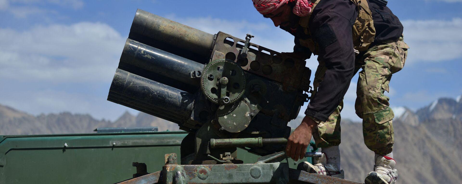 Афганское движение сопротивления в провинции Панджшер, Афганистан - Sputnik Таджикистан, 1920, 01.09.2021