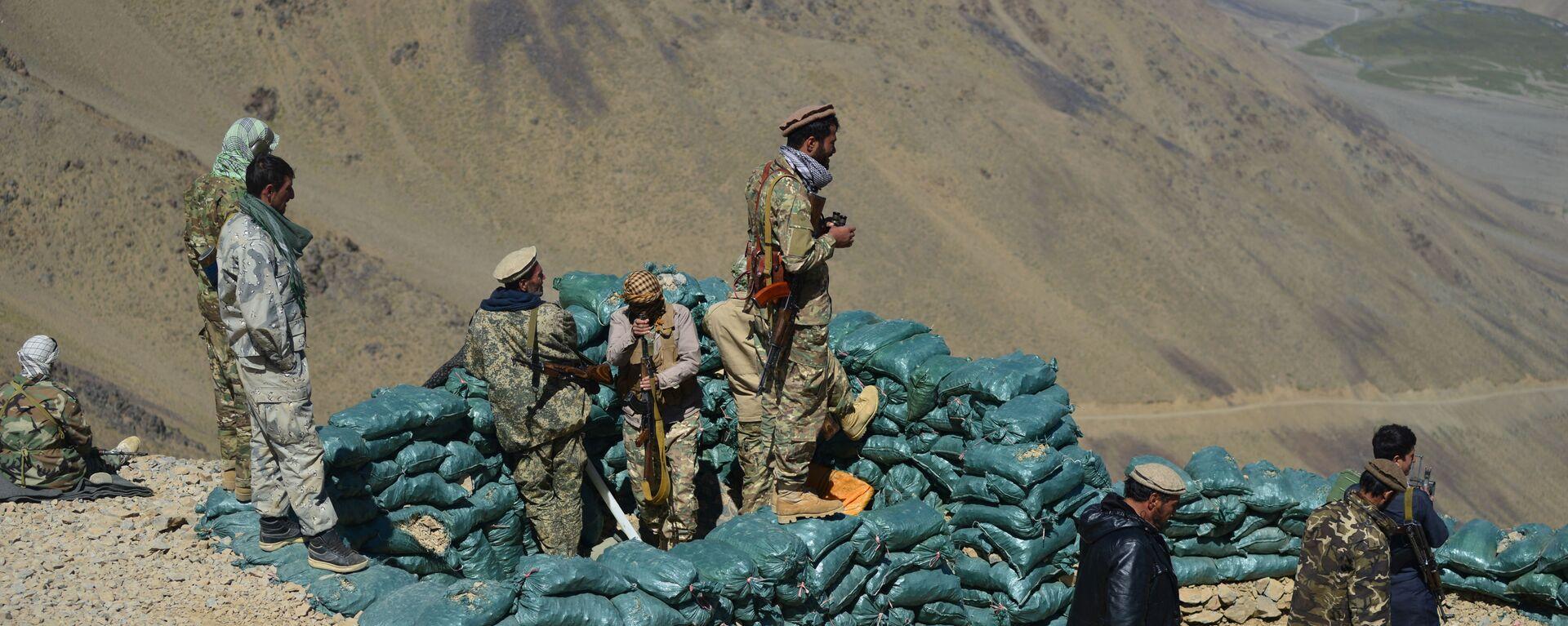 Движение афганского сопротивления на страже в провинции Панджшер - Sputnik Таджикистан, 1920, 06.09.2021