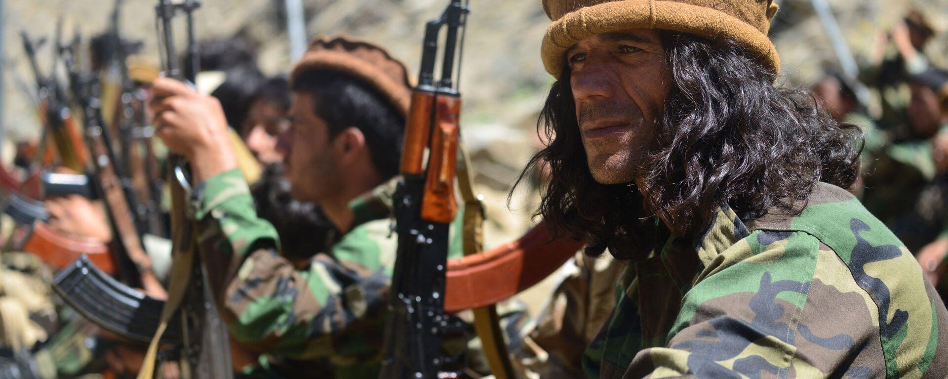Движение афганского сопротивления на страже в провинции Панджшер - Sputnik Таджикистан, 1920, 03.09.2021