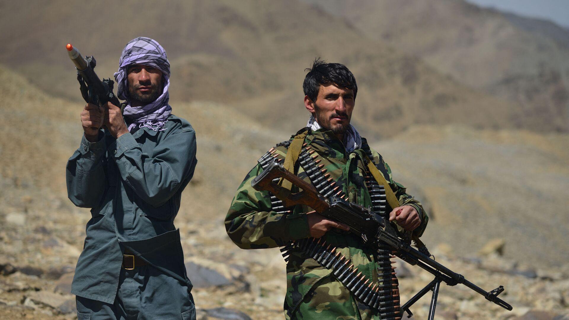 Движение афганского сопротивления на страже в провинции Панджшер - Sputnik Таджикистан, 1920, 16.09.2021