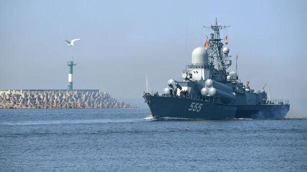 Малый ракетный корабль Гейзер, архивное фото - Sputnik Тоҷикистон