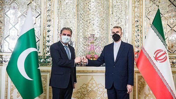 Встреча министров Иностранных дел Ирана и Пакистана - Sputnik Тоҷикистон