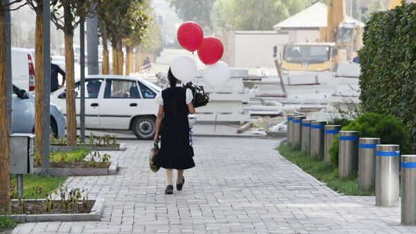 1 сентября, день знаний в Душанбе - Sputnik Таджикистан