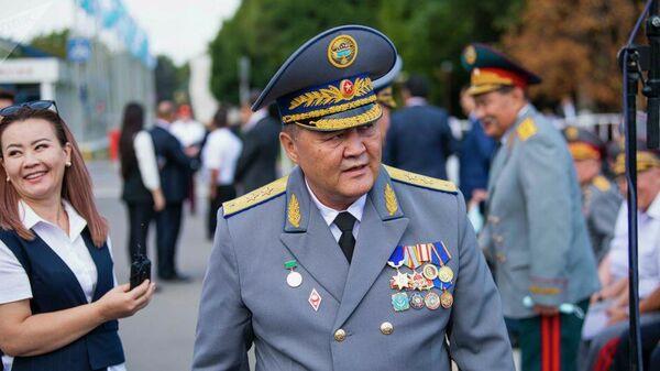 Председатель ГКНБ Камчыбек Ташиев на праздновании 30-летия Дня независимости Кыргызстана на площади Ала-Тоо в Бишкеке - Sputnik Таджикистан