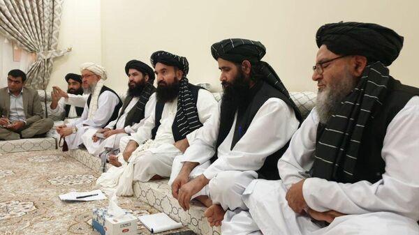 Руководство Талибана во время совещания - Sputnik Таджикистан