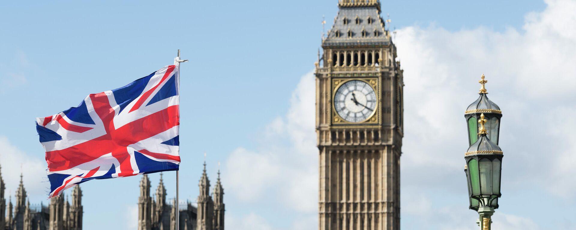 Флаг Великобритании - Sputnik Таджикистан, 1920, 02.09.2021