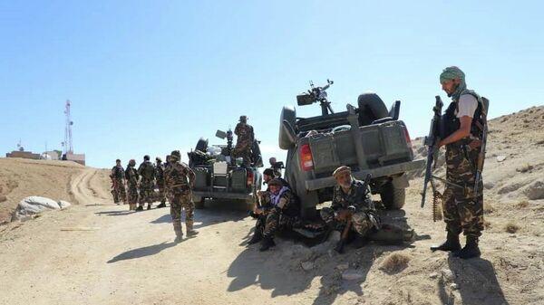 Войска сил сопротивления в Афганистане - Sputnik Таджикистан