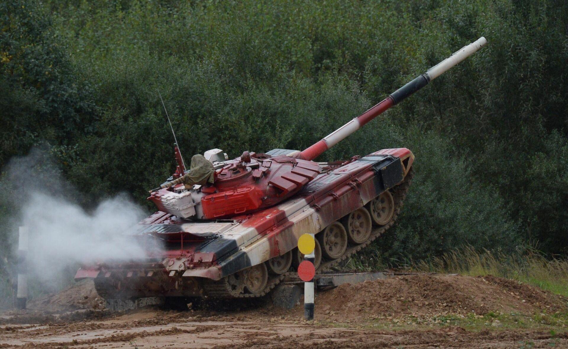 Форум Армия-2021. Танковый биатлон. Финал - Sputnik Таджикистан, 1920, 03.09.2021