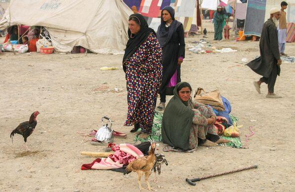 Количество афганских беженцев в Чамане продолжает расти. - Sputnik Таджикистан