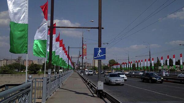 Душанбе дар интизории Рӯзи Истиқлолият  - Sputnik Тоҷикистон