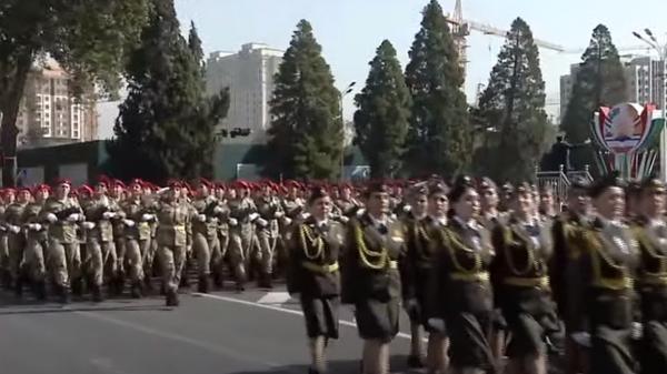 Военный парад в Душанбе 7 сентября 2021  - Sputnik Таджикистан