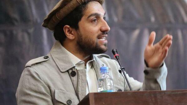 Ахмад Масуд, сын покойного афганского политика и военачальника Ахмад Шаха Масуда - Sputnik Таджикистан