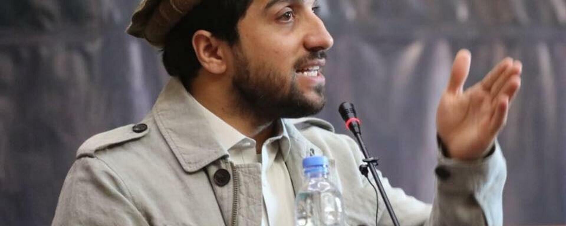 Ахмад Масуд, сын покойного афганского политика и военачальника Ахмад Шаха Масуда - Sputnik Таджикистан, 1920, 25.09.2021
